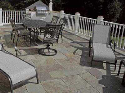 Paving A Deck With Stone Professional Deck Builder