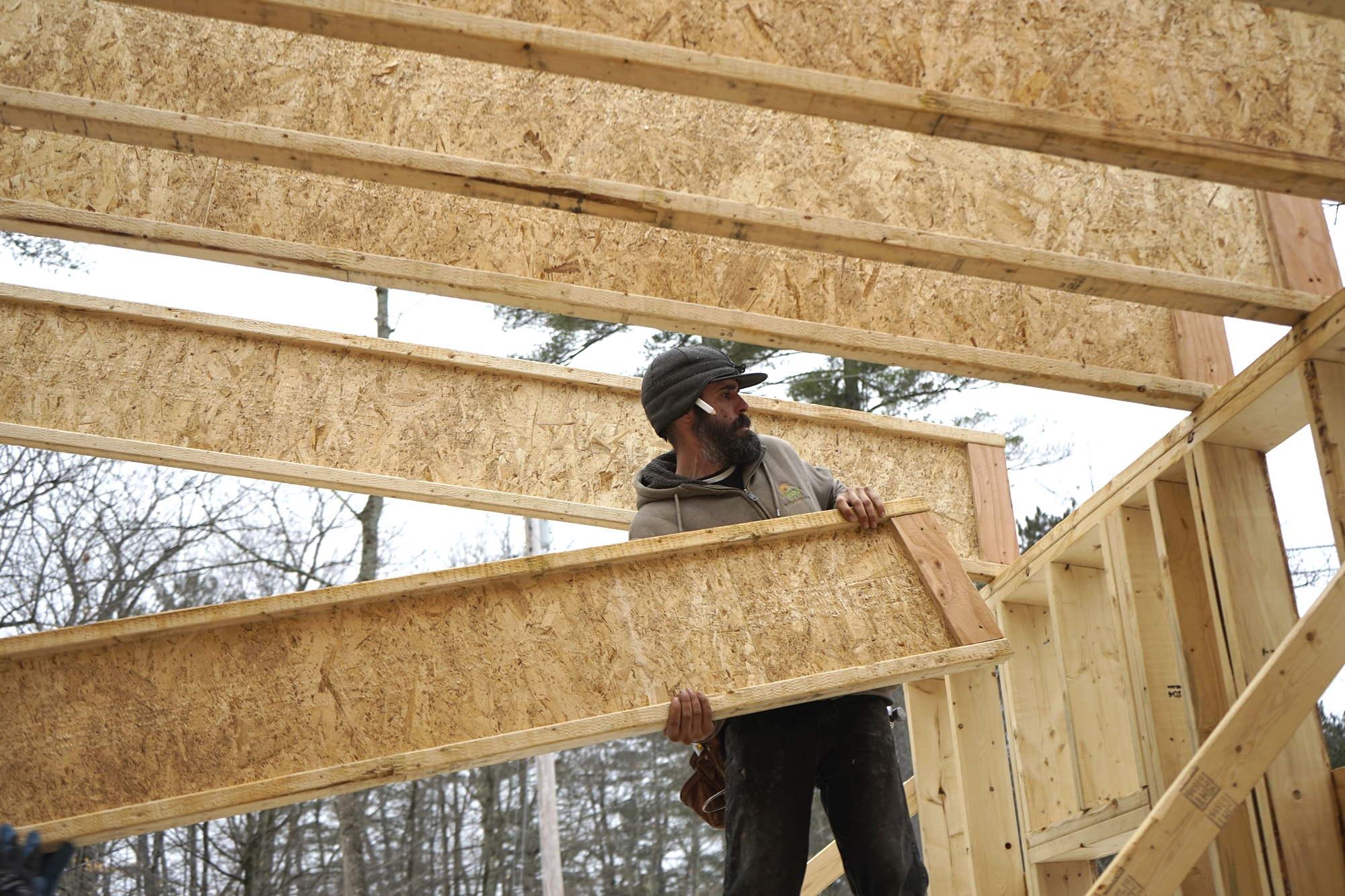 A Long Span Wood I Joist Shed Roof Jlc Online