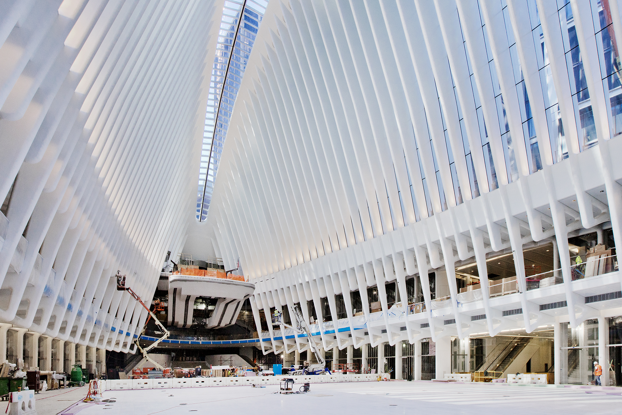Calatrava S Transportation Hub Finally Takes Flight