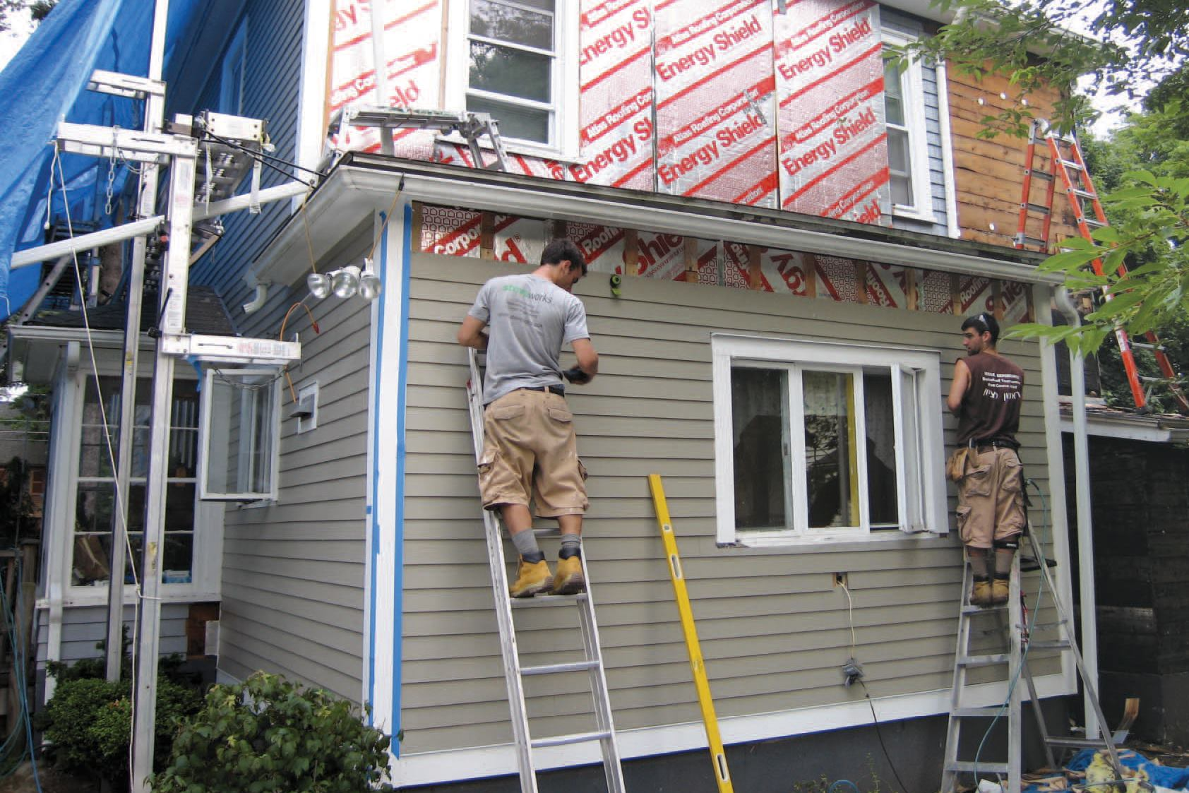 Ening A House When Replacing The Siding Jlc Online