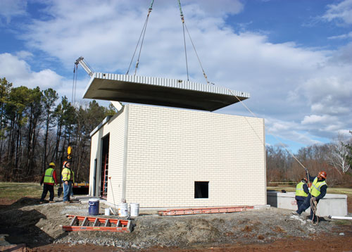 Precast Concrete Buildings Concrete Construction Magazine