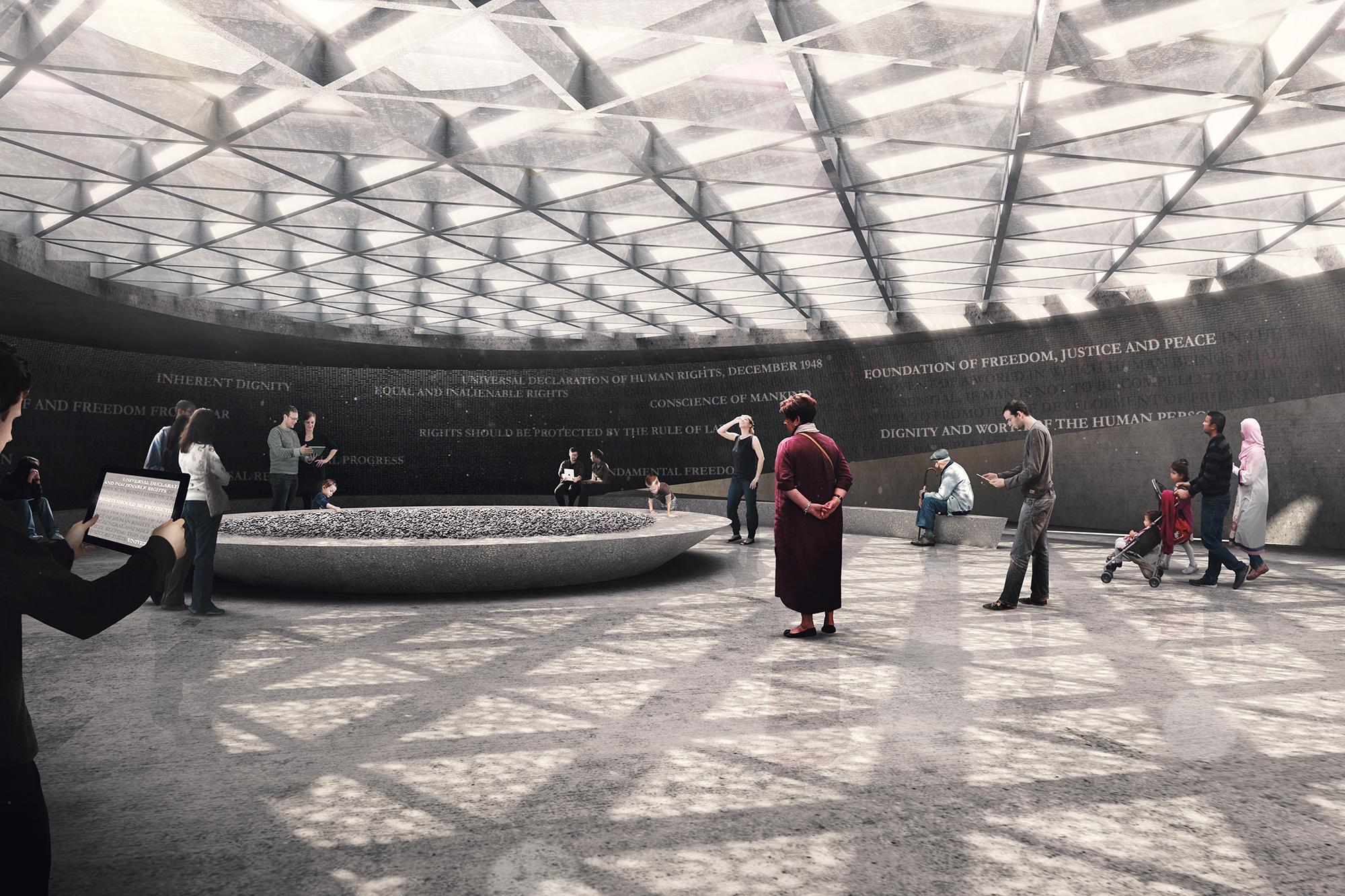 National Holocaust Memorial and Learning Centre (Diamond Schmitt ...
