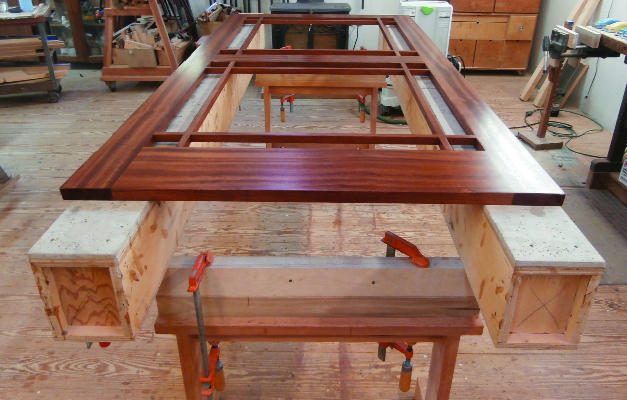 a finish carpenter's set of box beams   jlc online