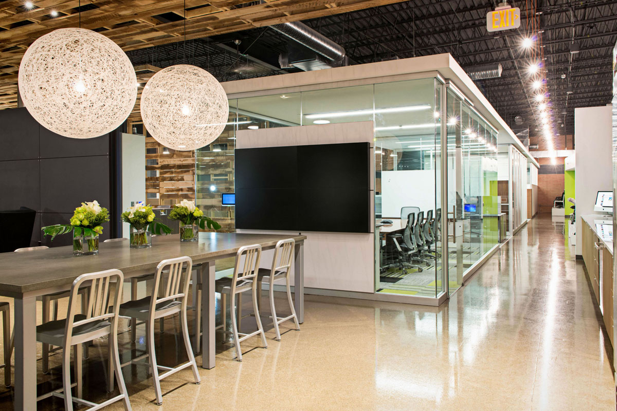 Interior Environments New Headquarters Architect