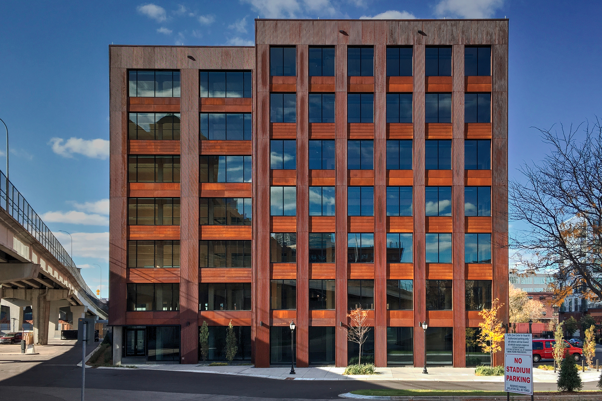 Modern office architecture Green T3 Becomes The First Modern Tall Wood Building In The Us Architect Magazine T3 Becomes The First Modern Tall Wood Building In The Us