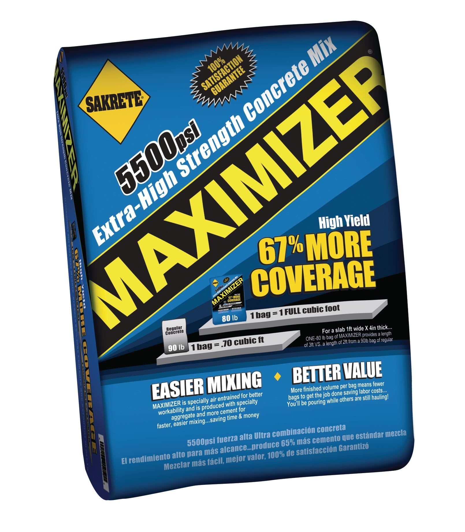 Sakrete Maximizer Concrete Architect Magazine