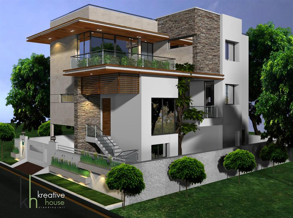 Independent houses in hyderabad architect magazine for Different house styles pictures