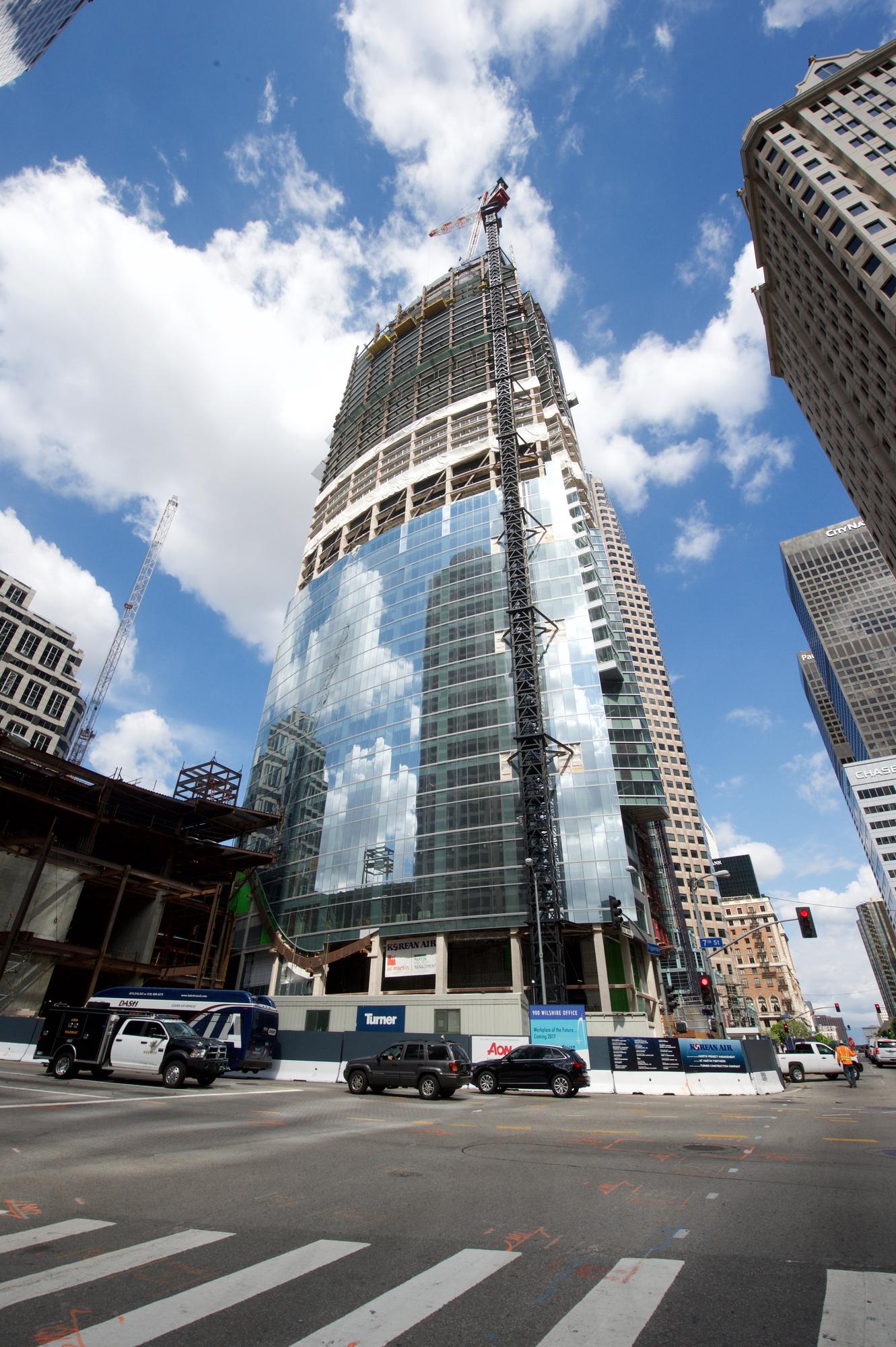 Wilshire Grand Los Angeles Concrete Construction Magazine
