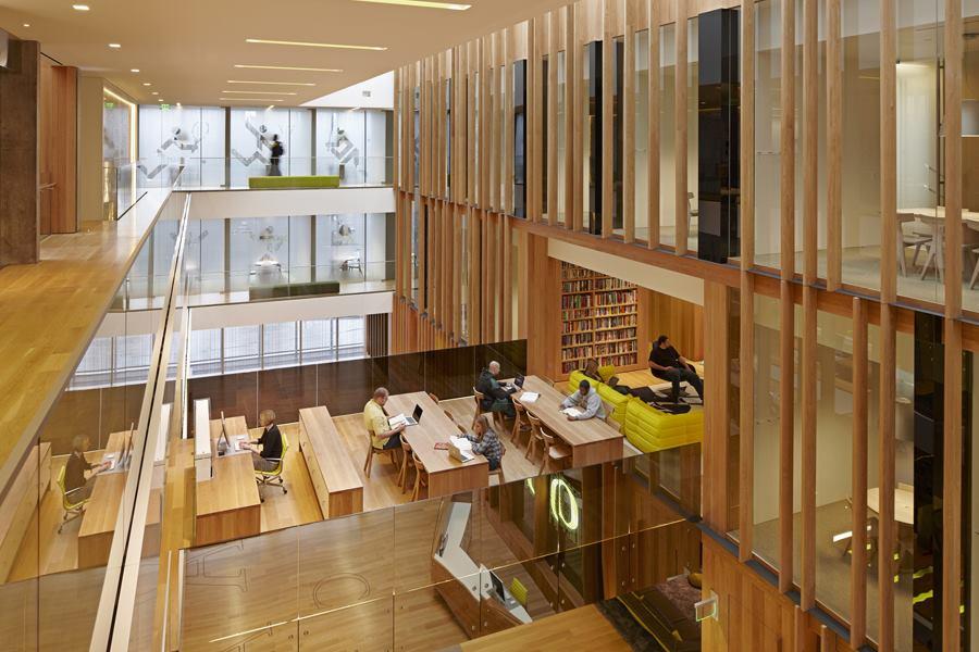 John e jaqua academic center for student athletes eugene for Residential architects eugene oregon