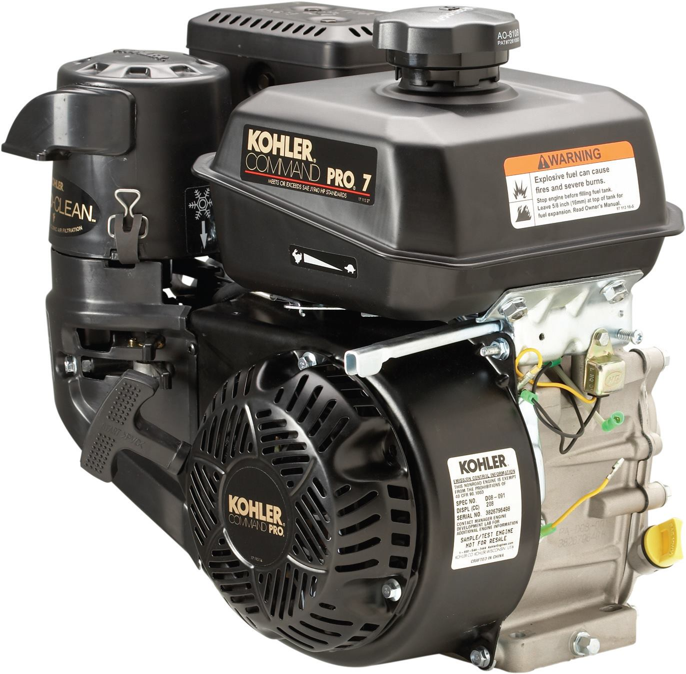 Kohler Engines Command Pro With Quad Clean Concrete Construction 2 7 Engine Schematics Magazine Indoor Air Quality Jobsite Equipment