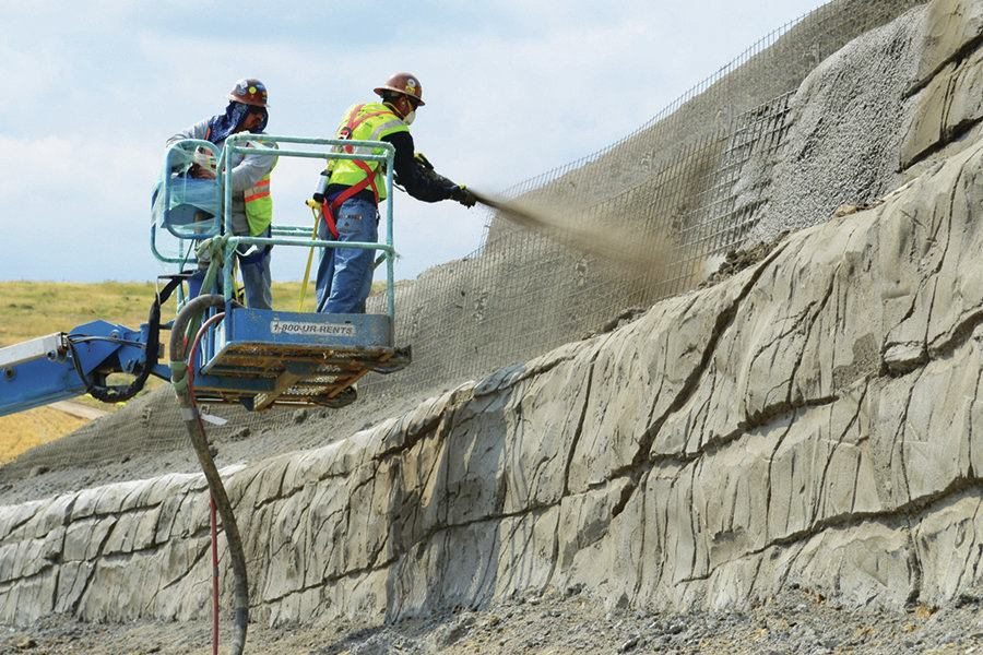 Shotcrete Sculpting Concrete Construction Magazine