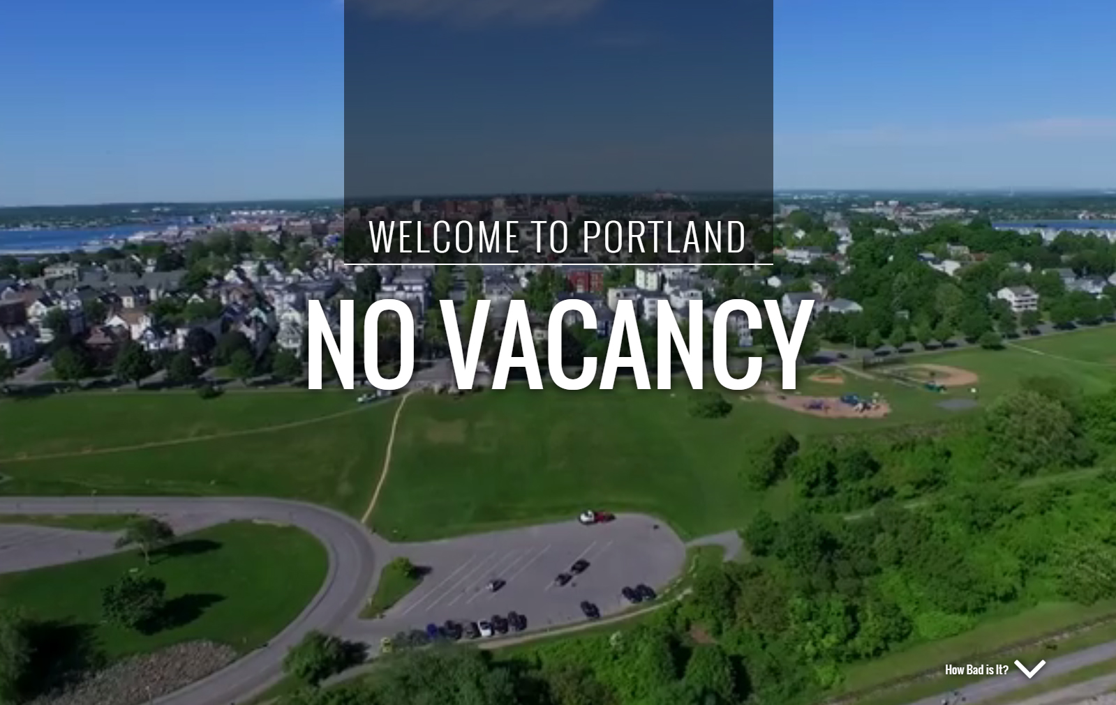 Welcome To Portland Maine No Vacancy Jlc Online