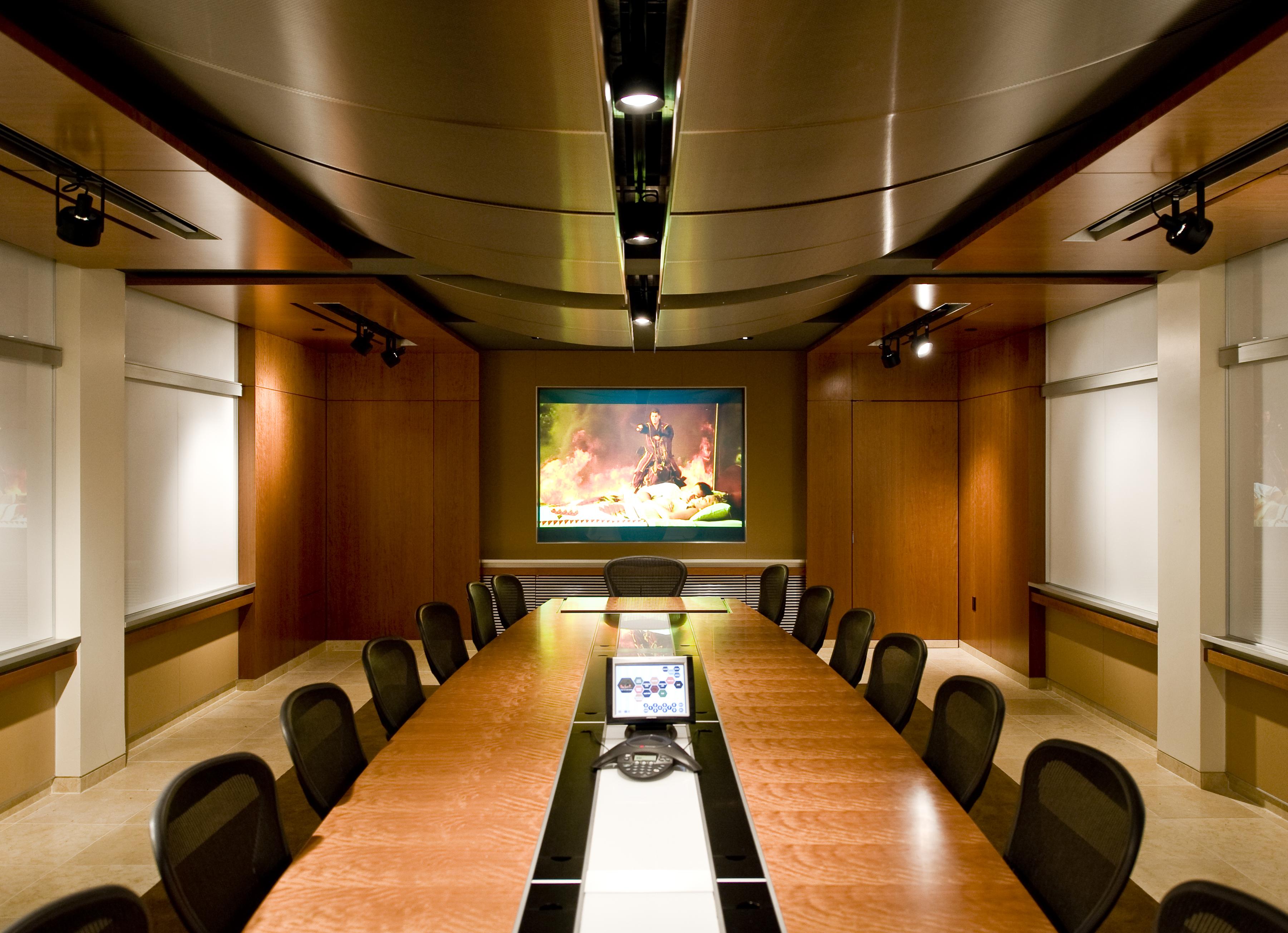 CLINE DAVIS MANN, LLC. CONFERENCE ROOM | Architect Magazine | Mojo ...