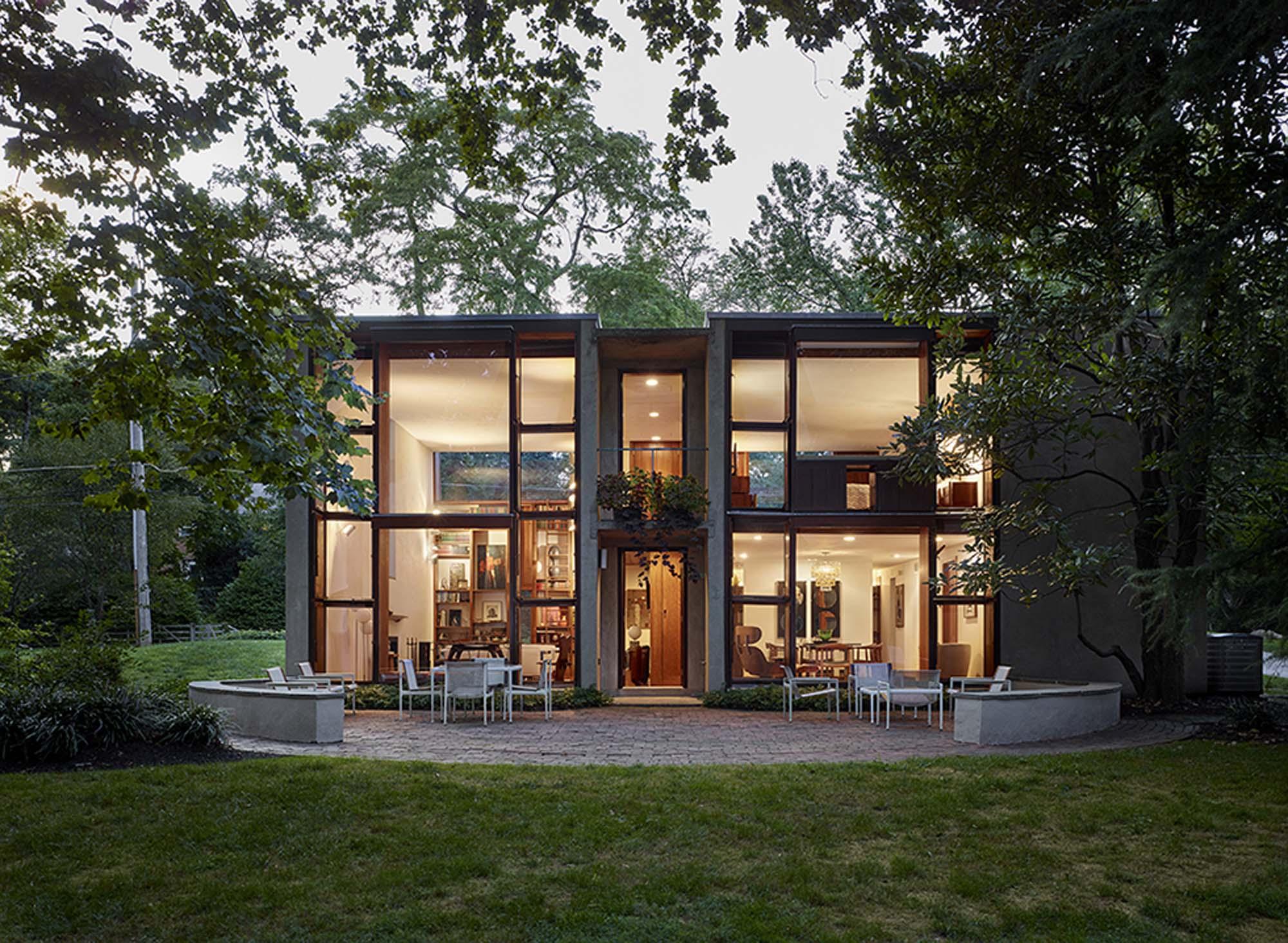N Single Home Elevation : Margaret esherick house architect magazine louis kahn