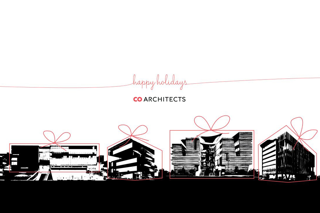 architecture  design holiday cards architect