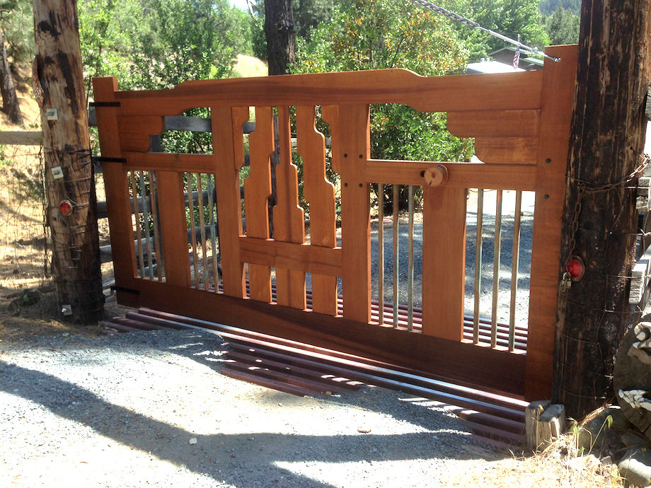 My New Home  Craftsman Style Gate
