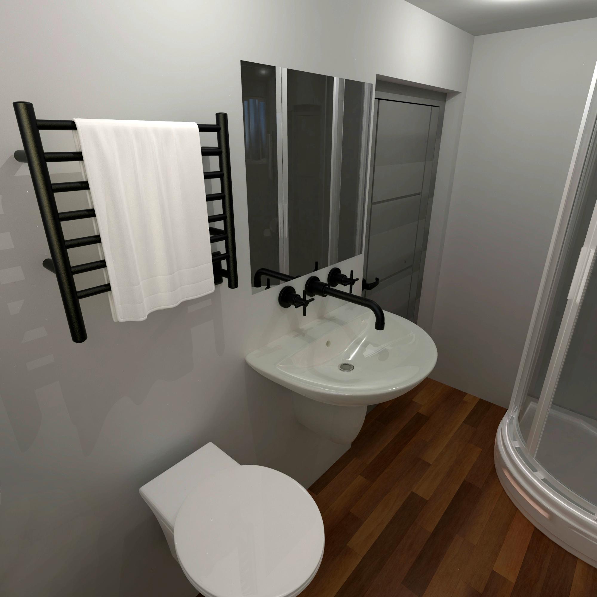 Heated Towel Rack Builder, Towel Racks In Small Bathrooms