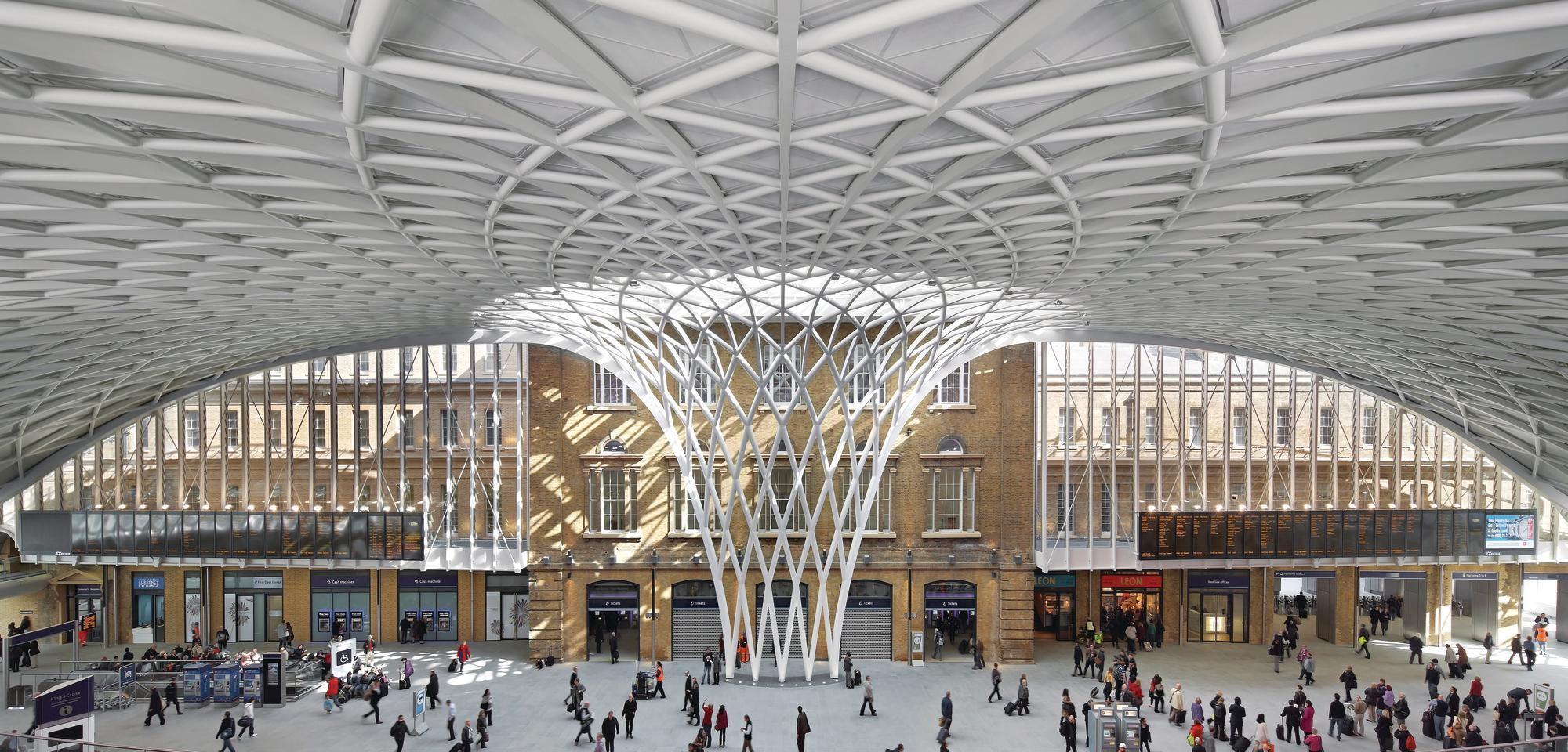 King S Cross Station Western Concourse Architect Magazine