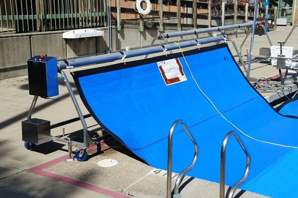 Reel In Pool Covers With T Star S Una Automatic Pool Cover