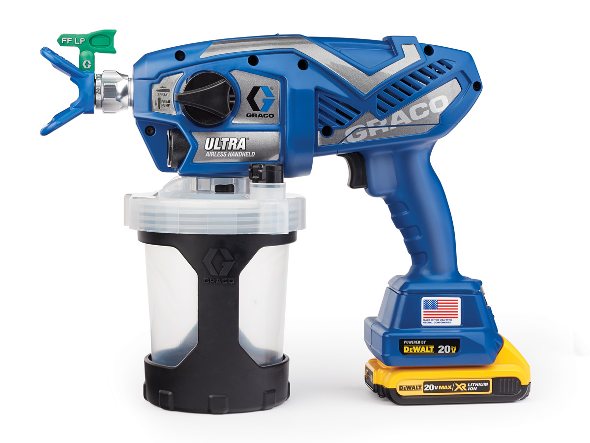 Cordless Ultra Paint Sprayer | Tools of the Trade | Painting ...