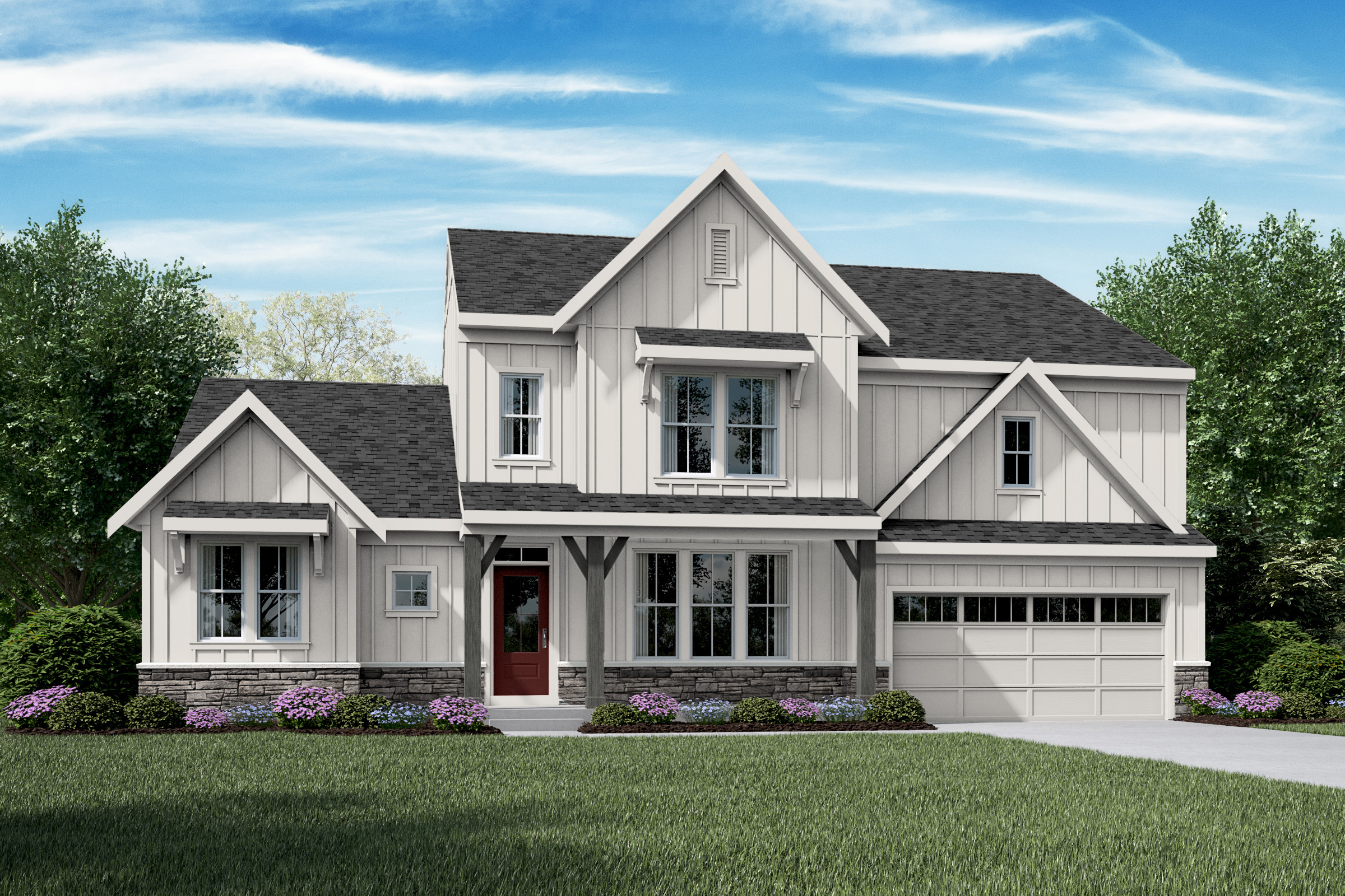 Fischer Homes Opens New Farmhouse Model Outside Columbus   Builder ...