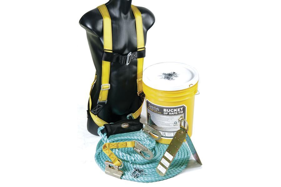 Roofer 39 S Safety Equipment Jlc Online Tools And Equipment Safety Roofing Guardian Fall