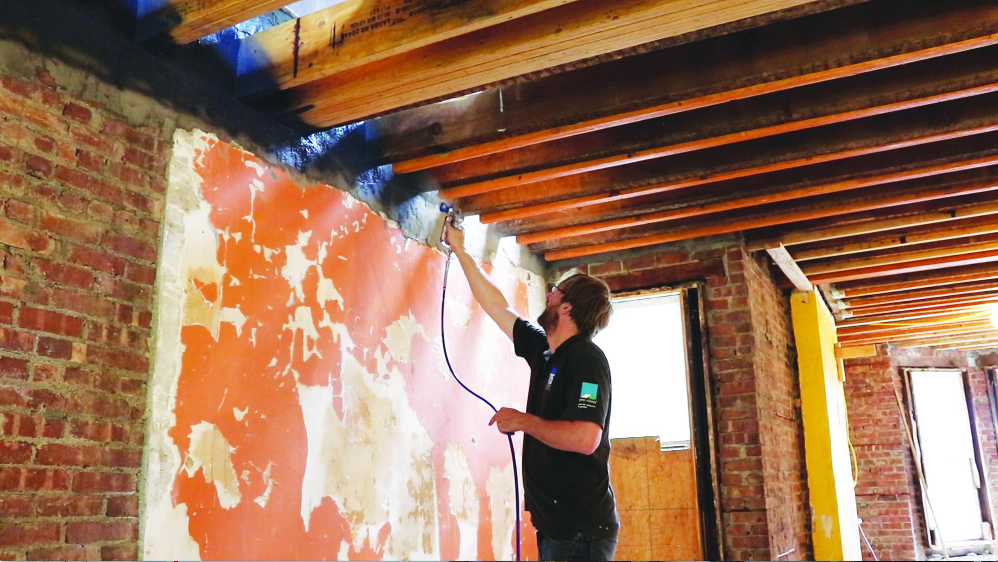 Air Sealing A Brick Wall Jlc Online