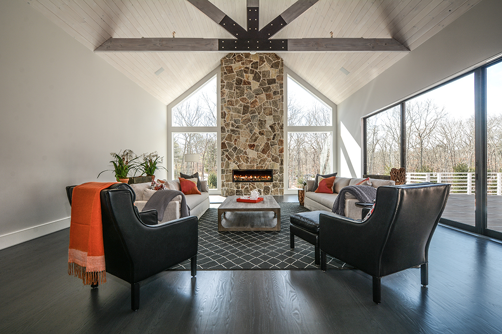 The Modern Barn At Flowerhill Reserve Custom Home Magazine Plum Builders Inc East