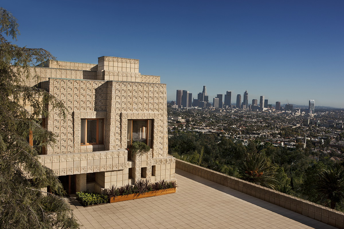 Frank Lloyd Wright S Ennis House Is Back On The Market