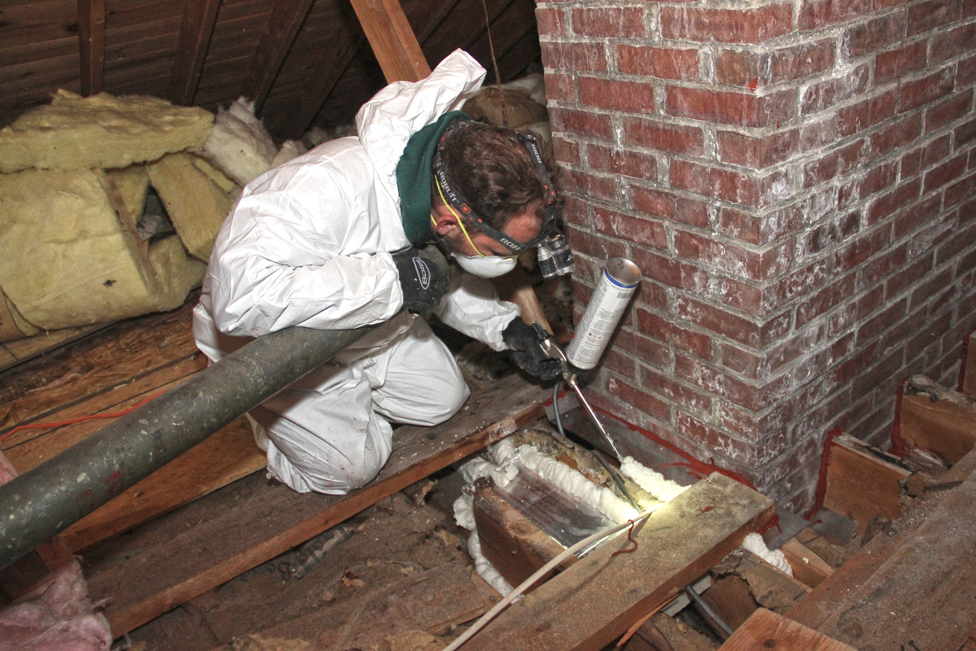 Sealing A Chimney Chase Jlc Online Insulation Energy