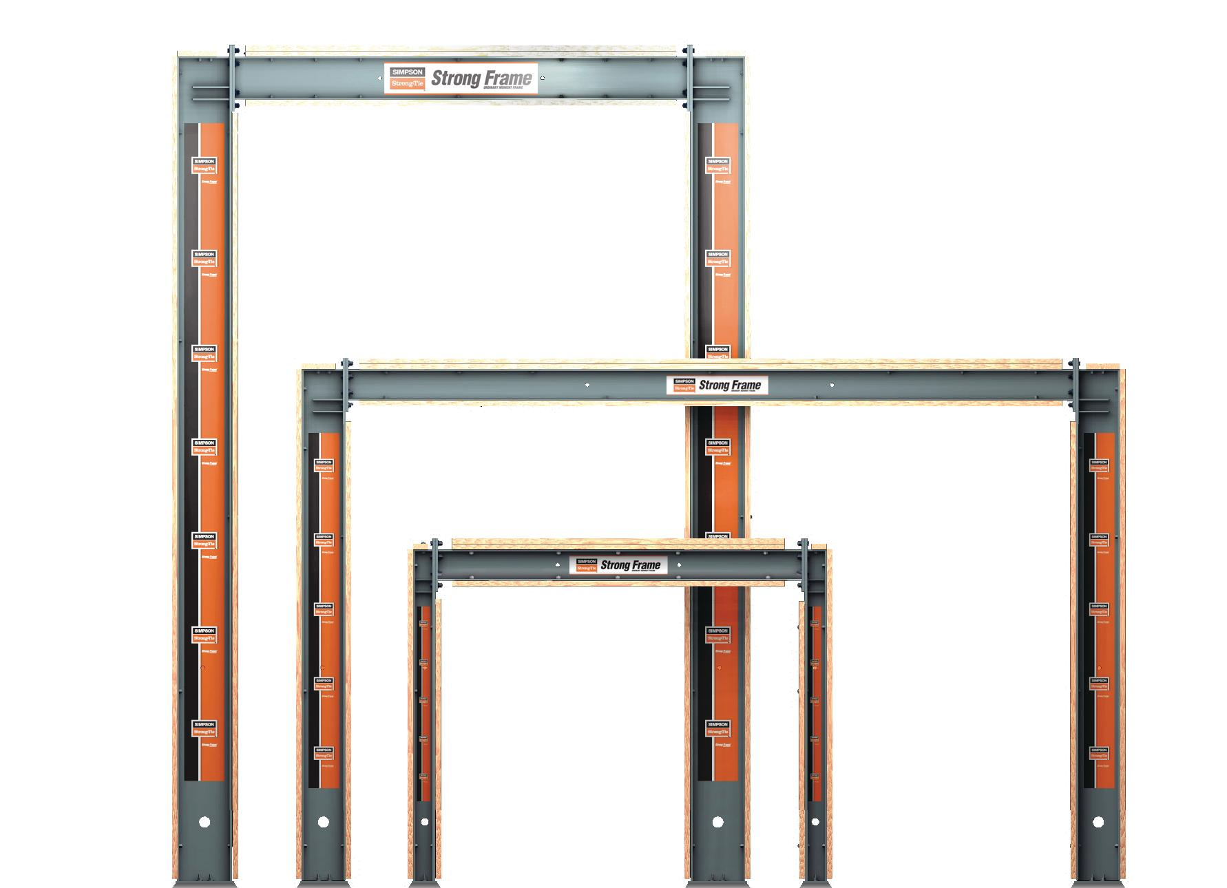 Simpson Strong Tie Strong Frame Moment Frames Remodeling