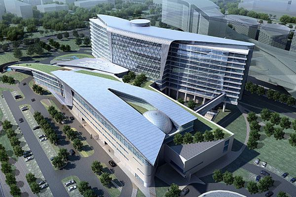 Project Gallery Huashan Hospital Shanghai Architect