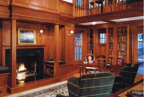 Room Study Home Libraries Custom Home Magazine