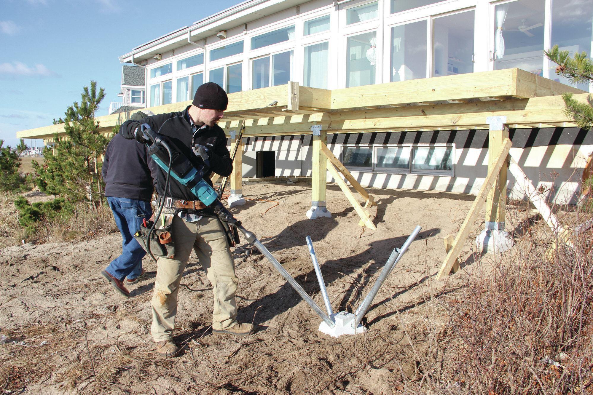 Faster Deck Piers Professional Deck Builder