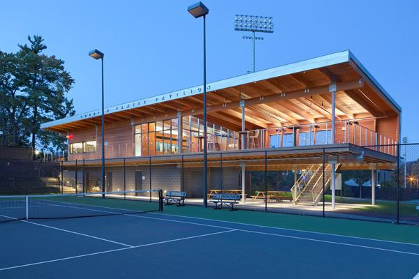 Project Gallery Princeton University Tennis Center