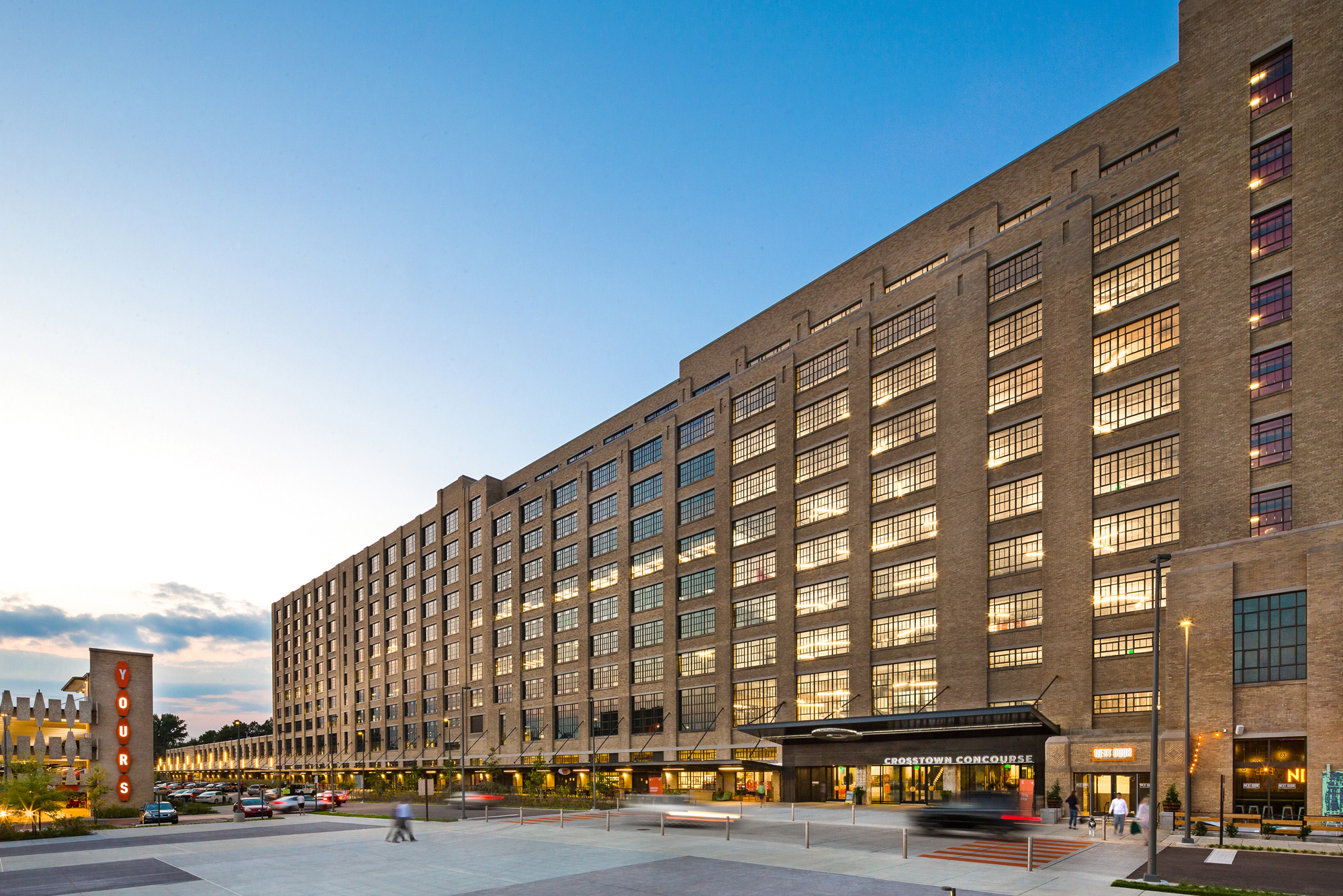 Crosstown Concourse By Looney Ricks Kiss Architect