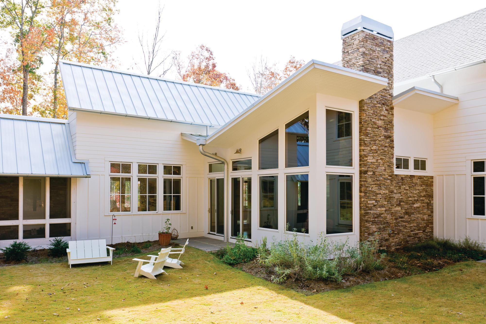 Case Study Green Modern Farmhouse In Alabama