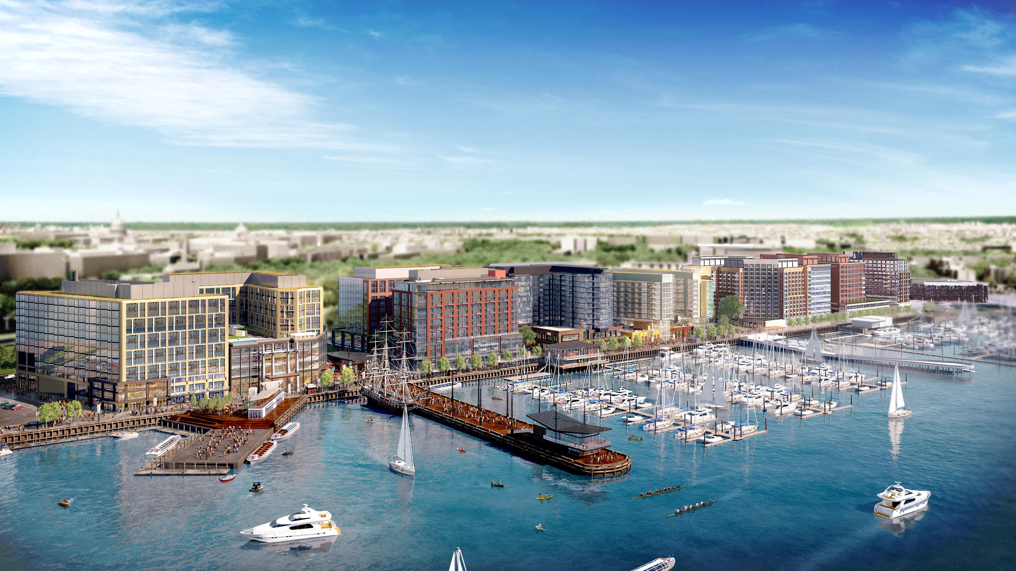 The Wharf Southwest Waterfront Architect Magazine