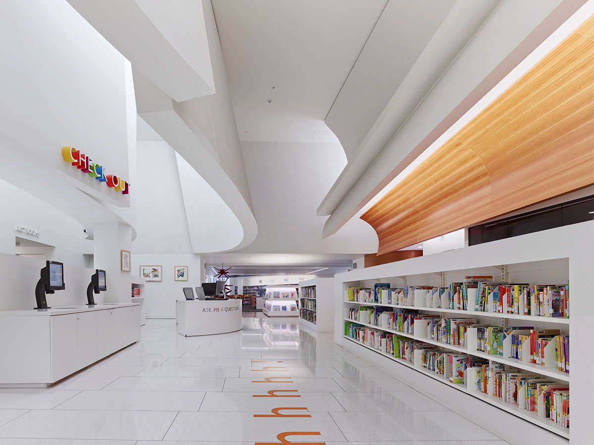 Beverly Hills Children S Library Architect Magazine