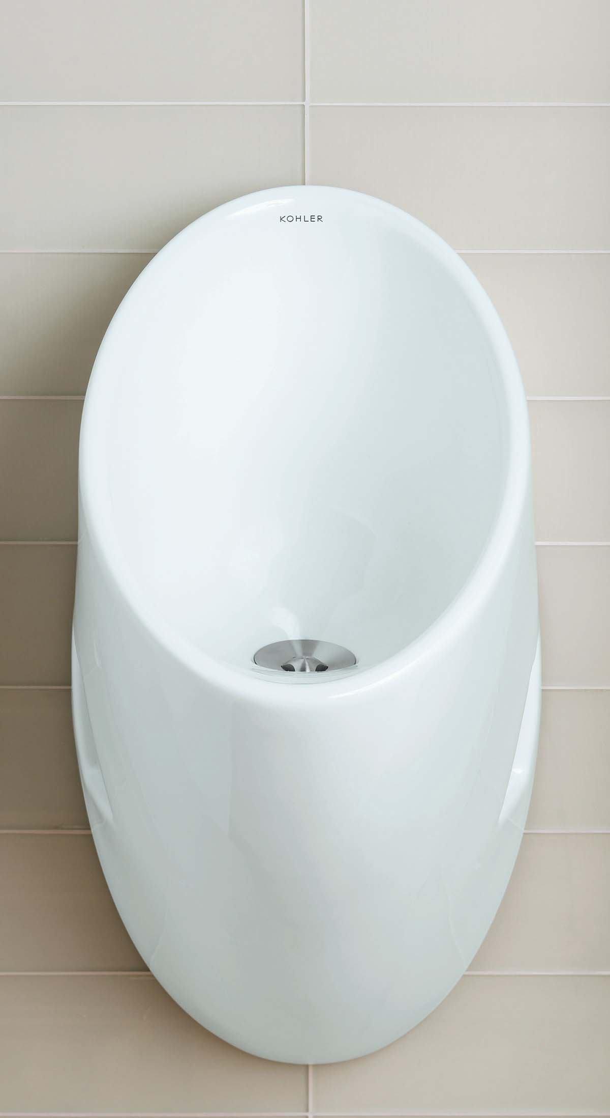 14 50 Outlet >> Steward waterless urinal from Kohler | Architect Magazine ...