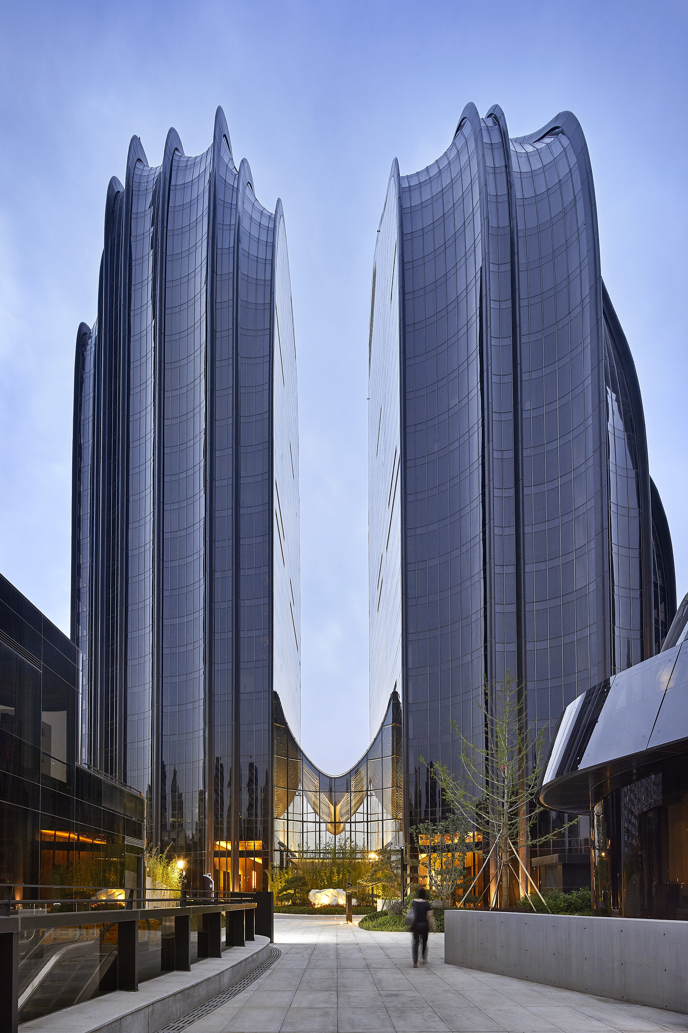 mad architects completes chaoyang park plaza  beijing multifamily executive magazine