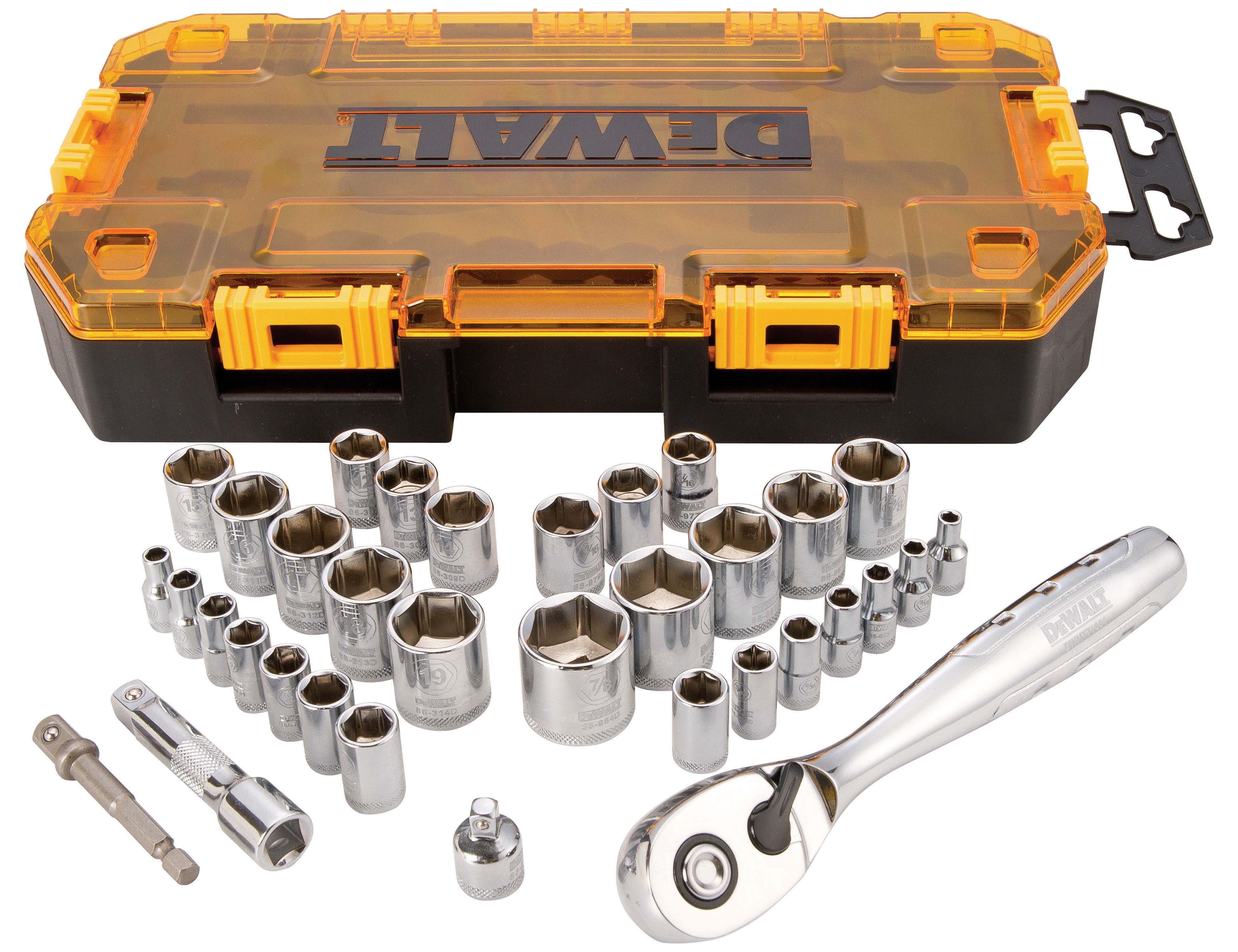 Dewalt Stackable Sets Tools Of The Trade Hand Tools