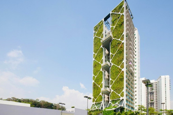 World S Largest Vertical Garden Ecobuilding Pulse