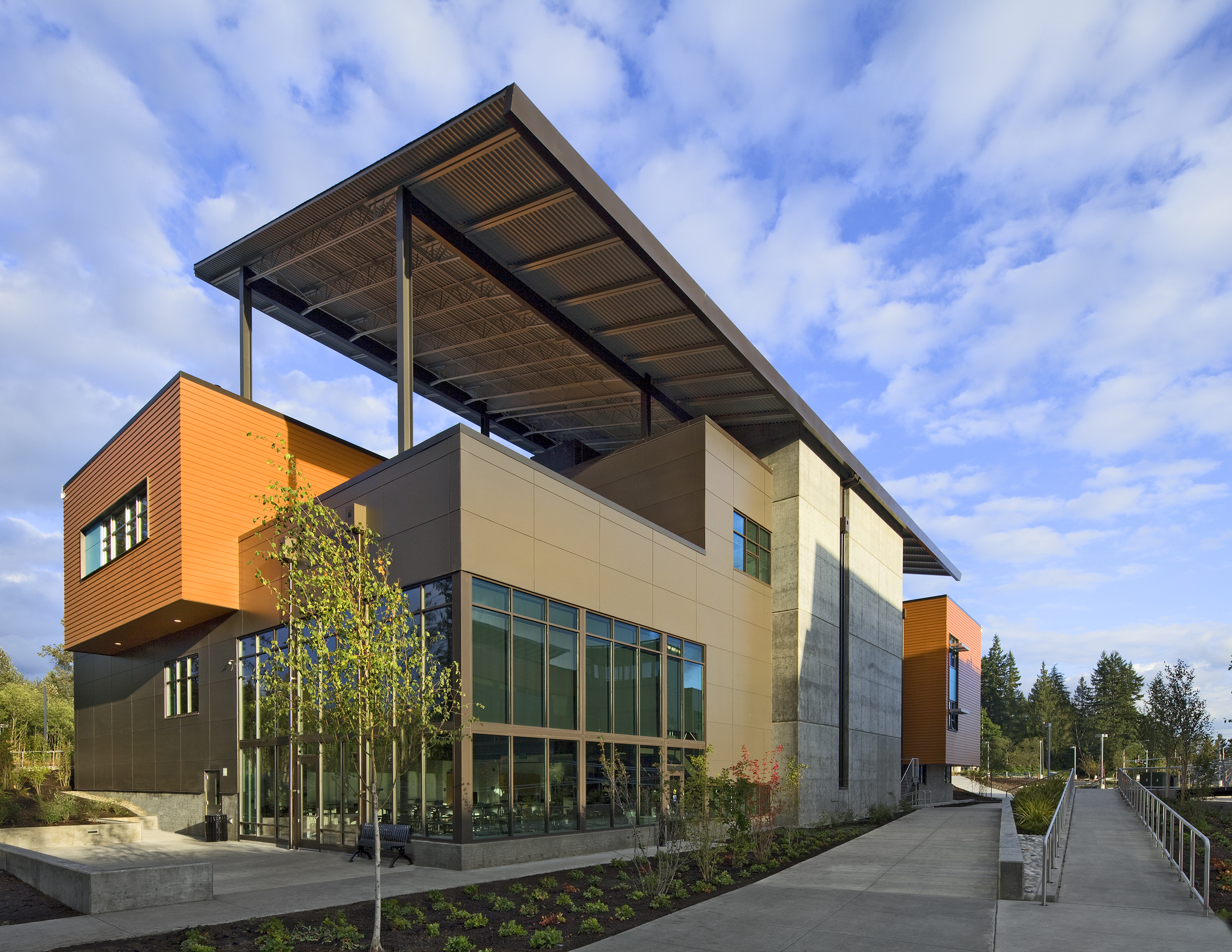 Marysville Getchell High School Architect Magazine Dlr