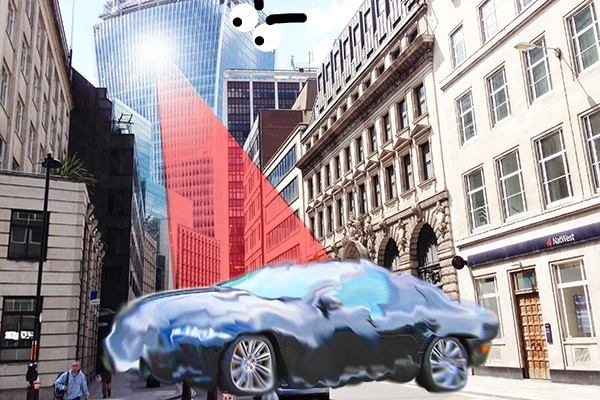How A Rafael Vi 241 Oly Skyscraper Melted A Jaguar In London