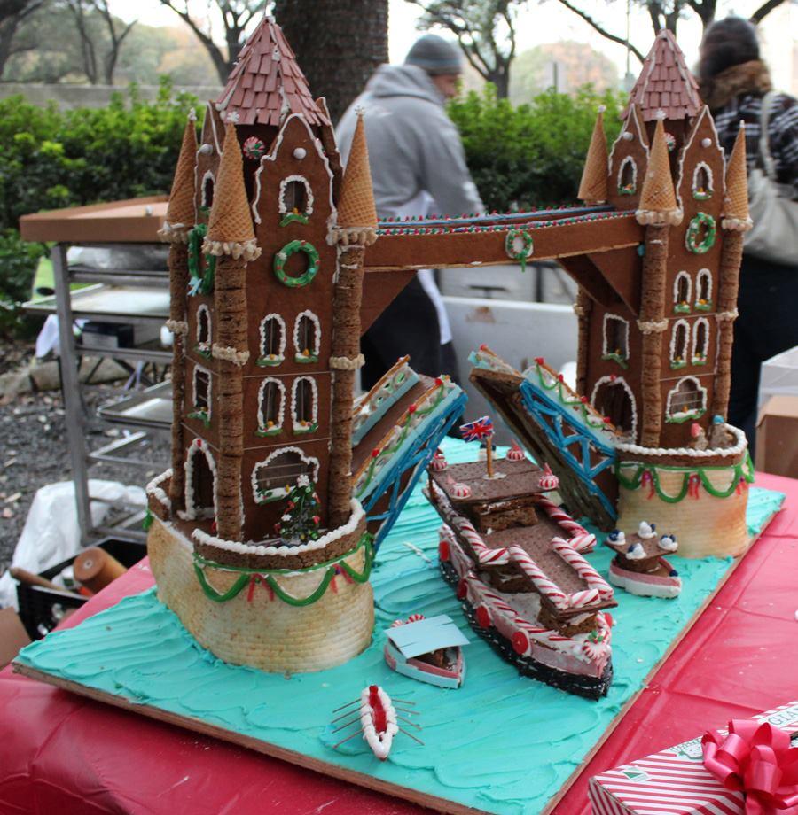 Architecture Center Houston Exhibiting Gingerbread Build