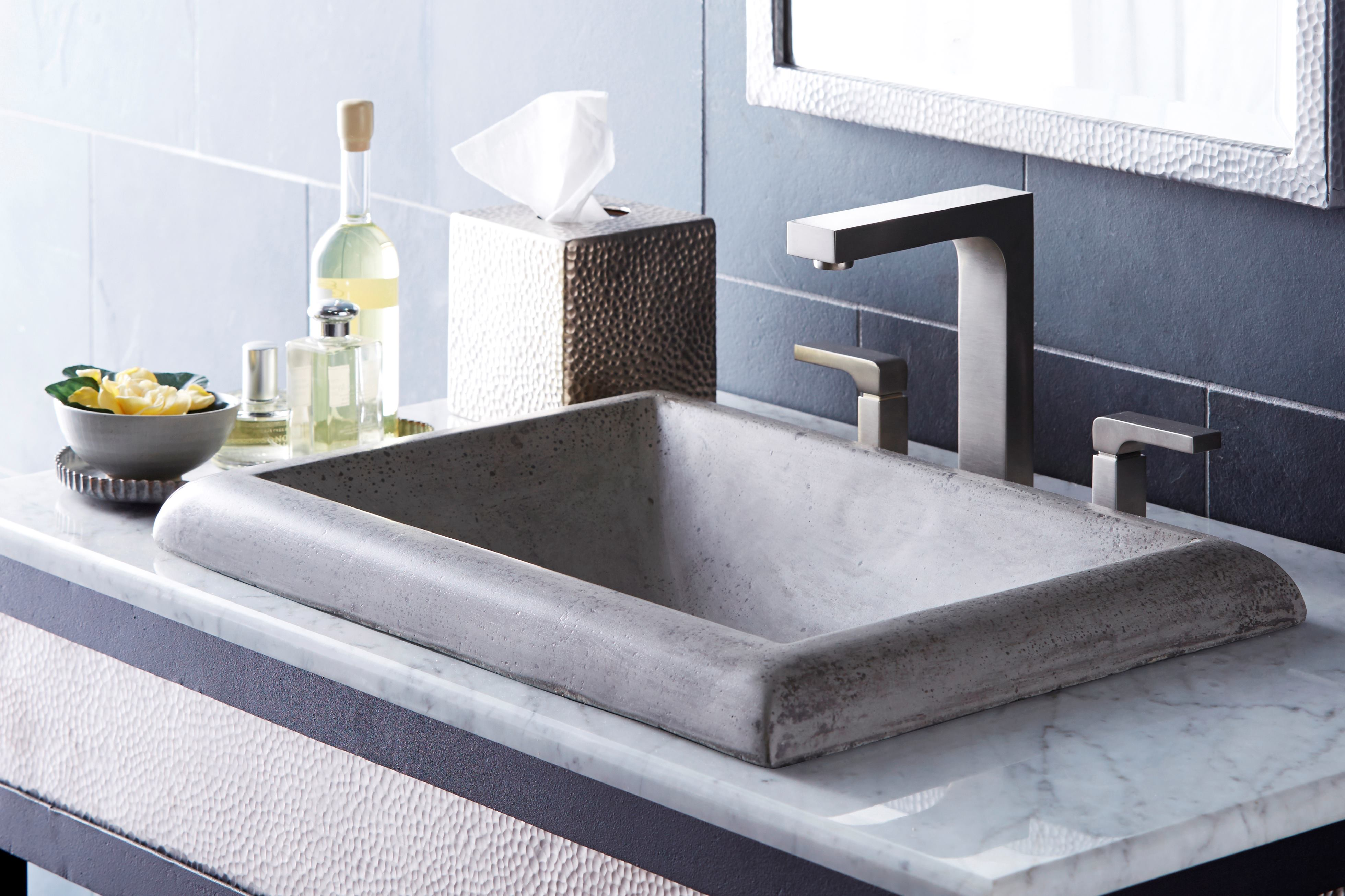 Nativestone Concrete Sinks Make A Weighty Statement