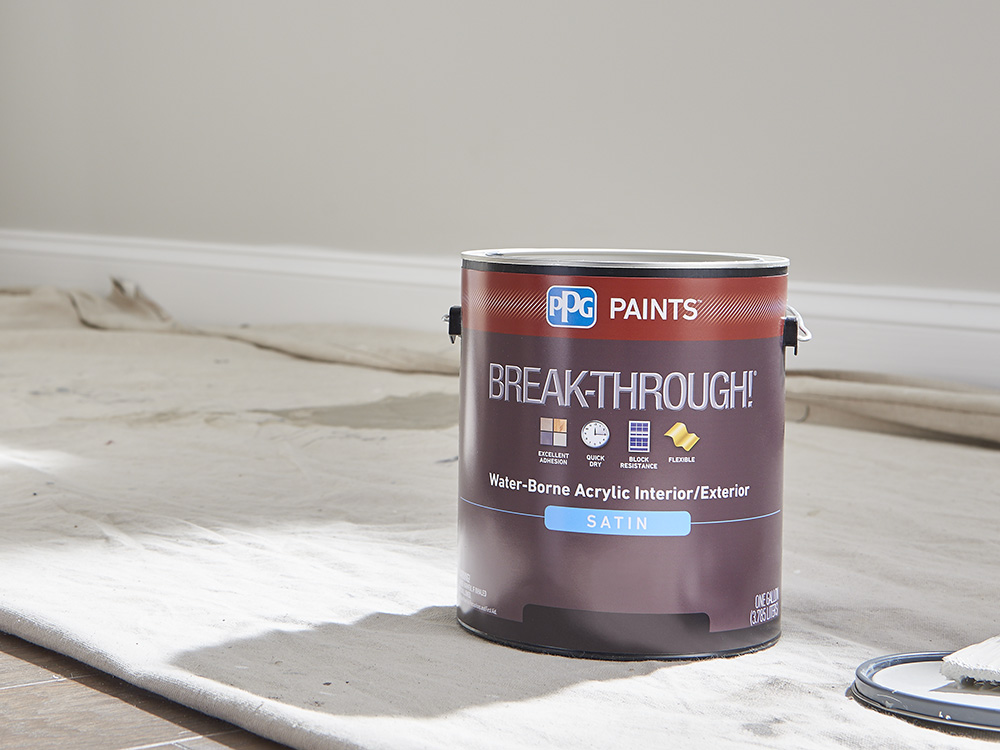 Break through 50 no primer required super fast dry - How fast does exterior paint dry ...