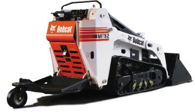 Subcompact Loaders Do A Deck Builder S Dirty Work