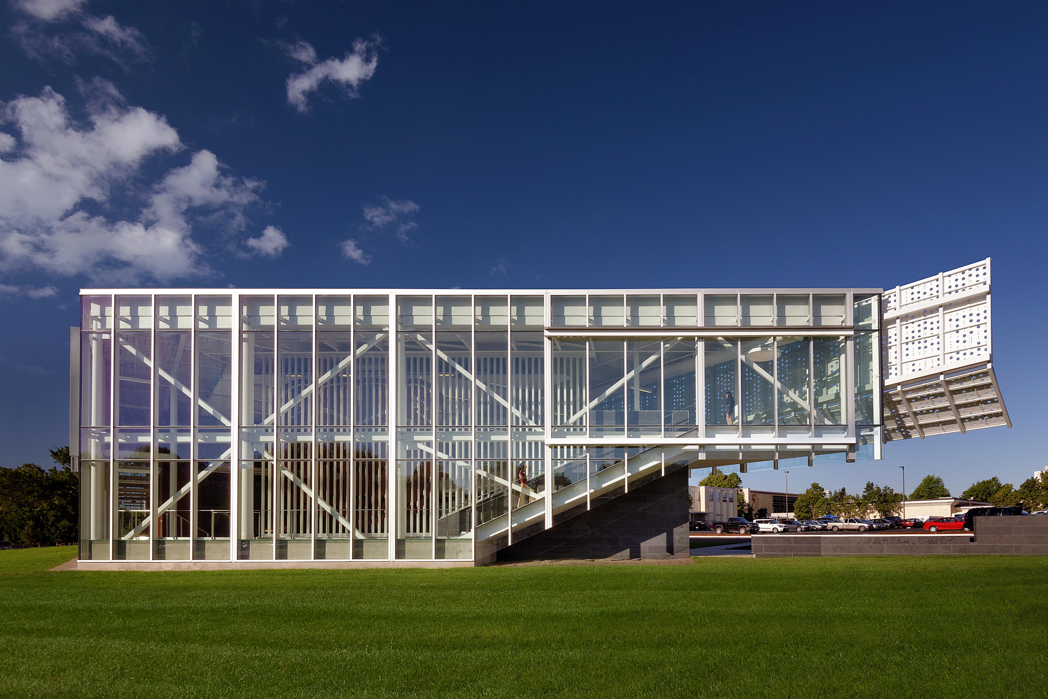 charming springfield architects #2: MSU Davis-Harrington Welcome Center   Architect Magazine   Dake Wells  Architecture, Springfield, MO, USA, Commercial, Education, Office, New  Construction, ...